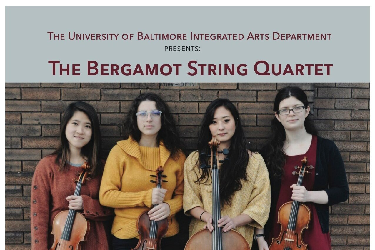 Integrated Arts Program Presents Bergamot String Quartet in Live-Stream Performance