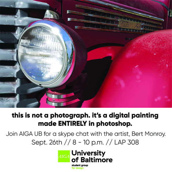 Live Skype chat with digital artist Bert Monroy