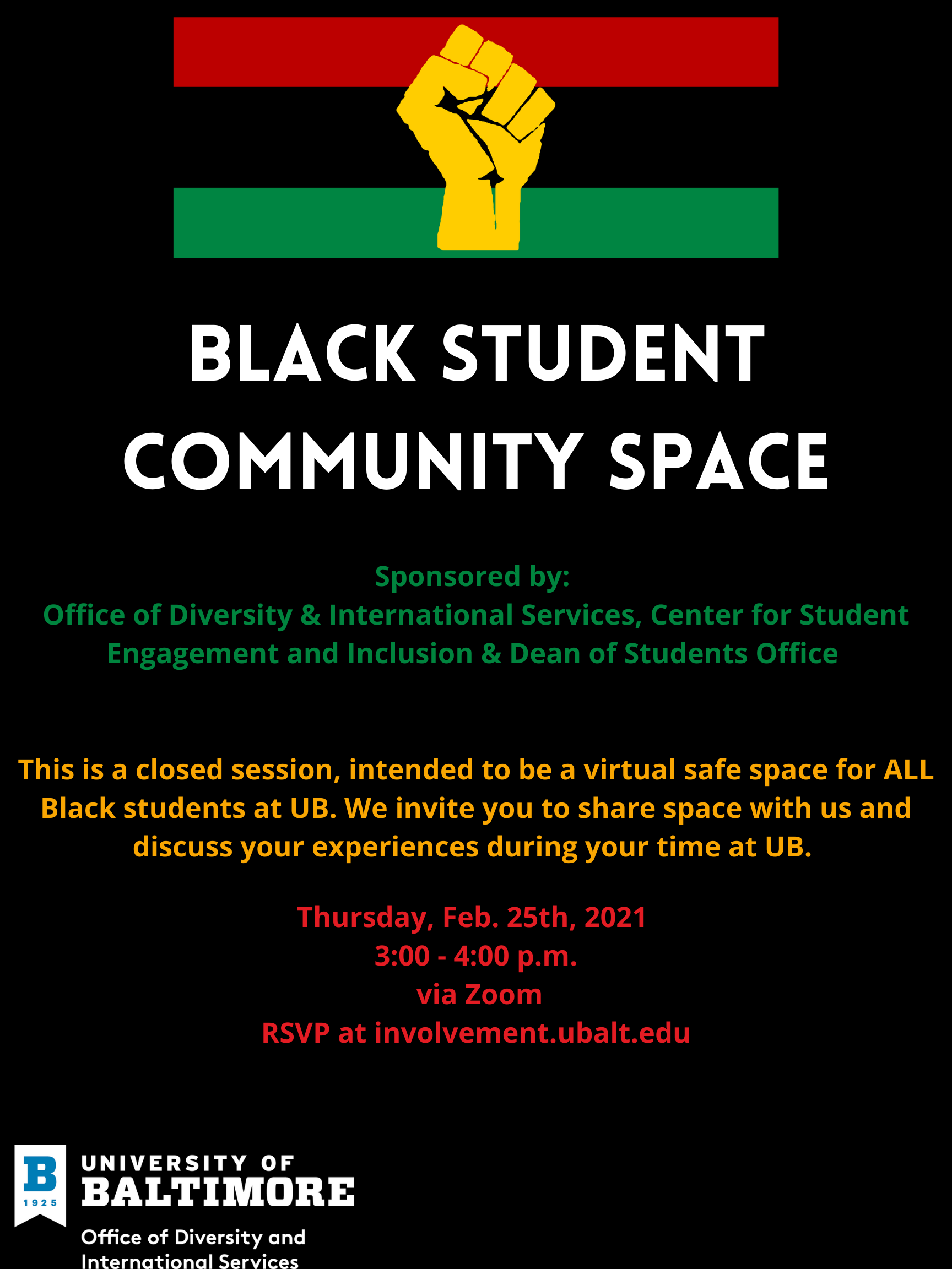 Black Student Community Space