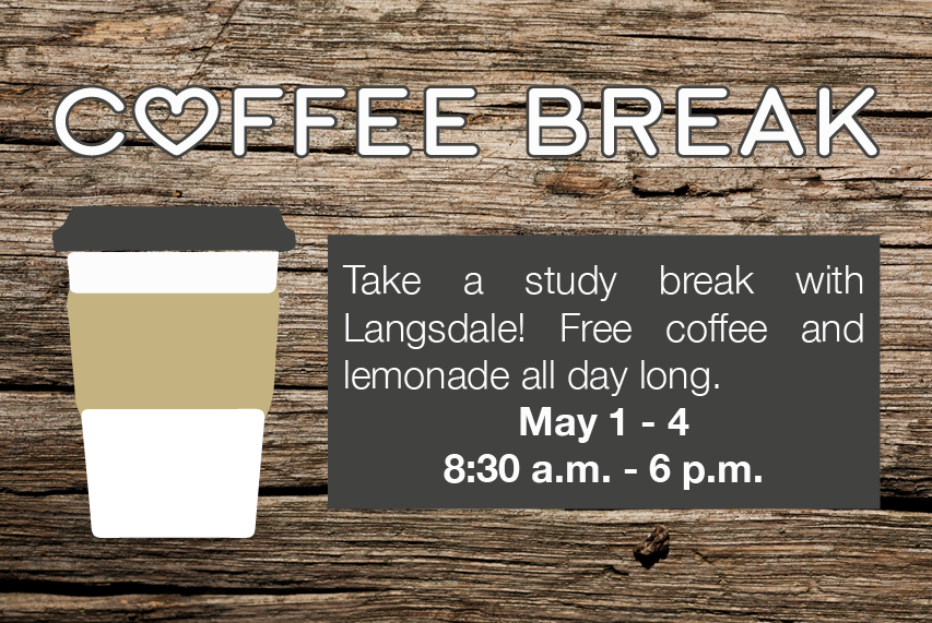 Free Coffee & Lemonade Break @ Langsdale