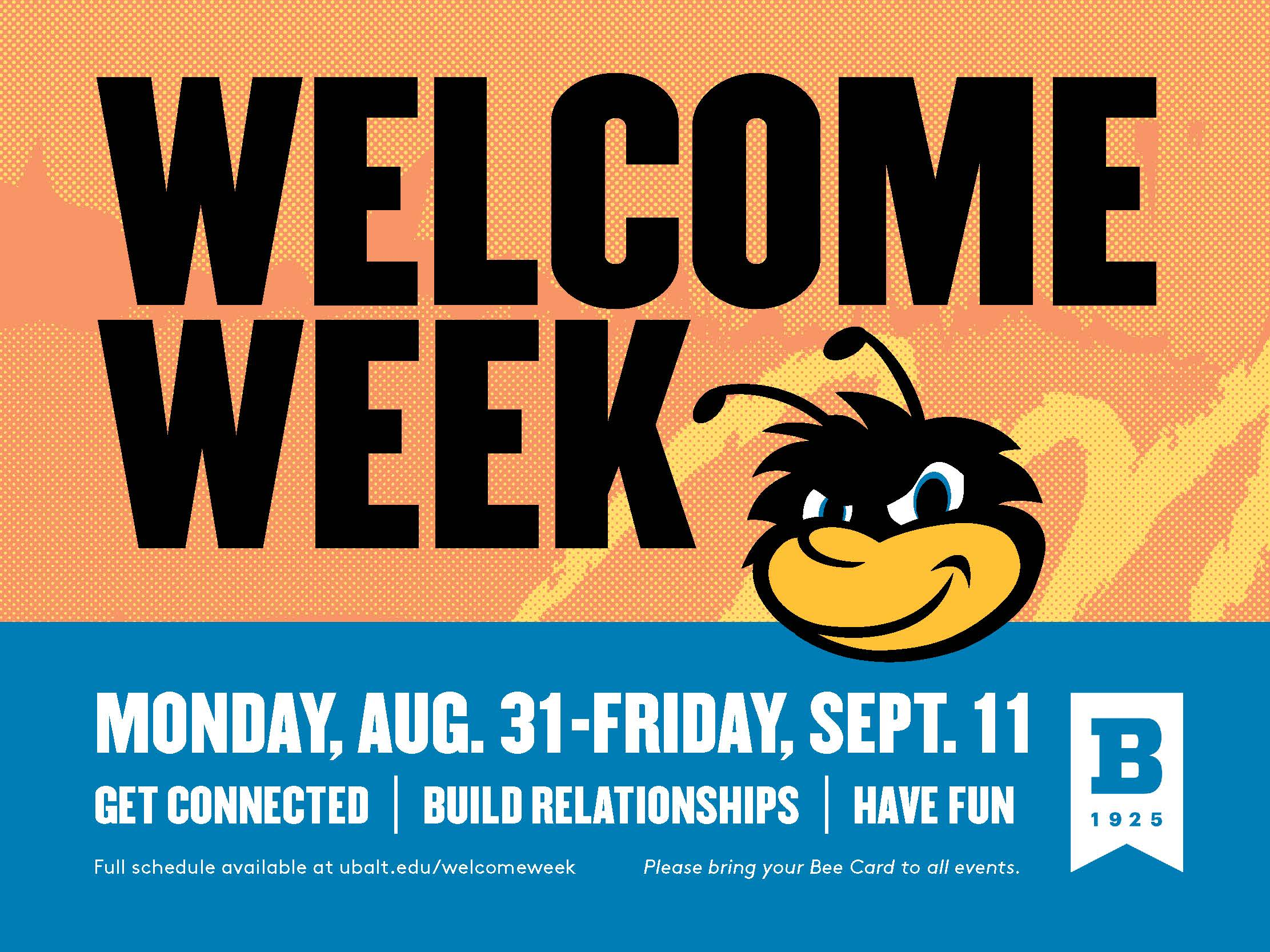 Welcome Week Fall 2020