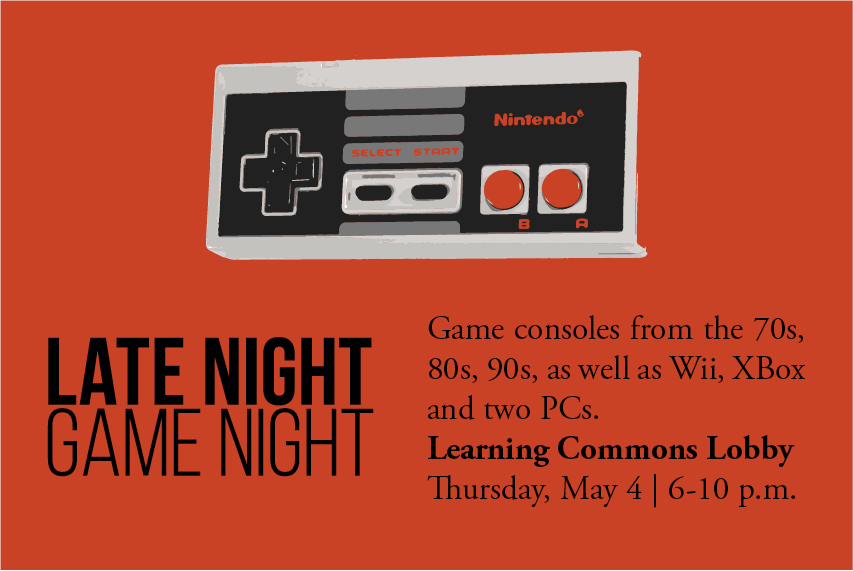 Late Night Video Game Night @ Langsdale