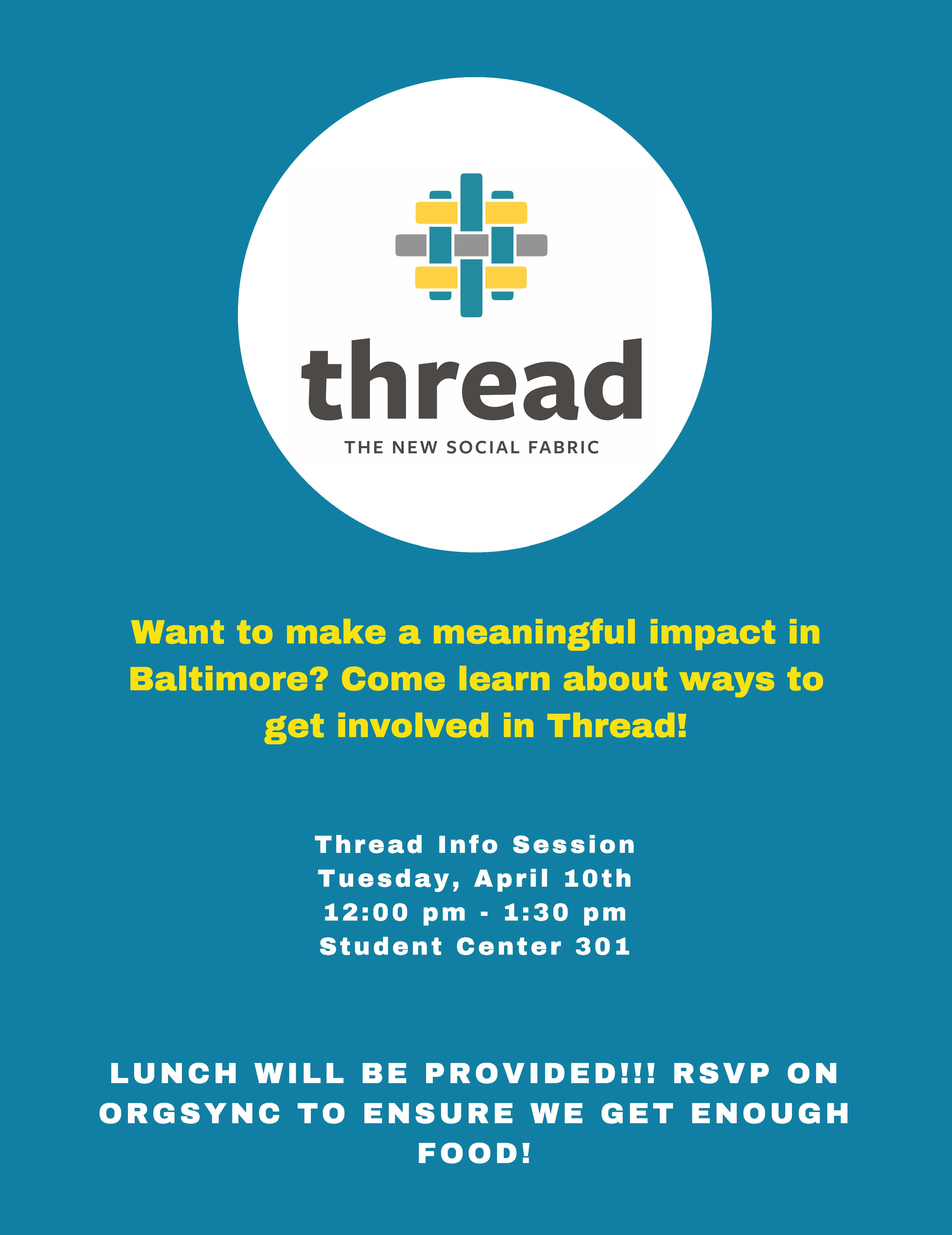 Thread Info Session