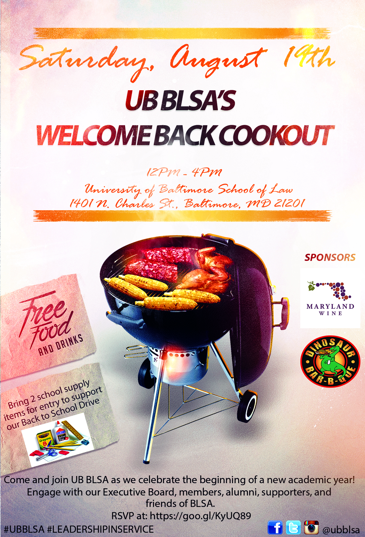 UB BLSA's Welcome Back Cookout