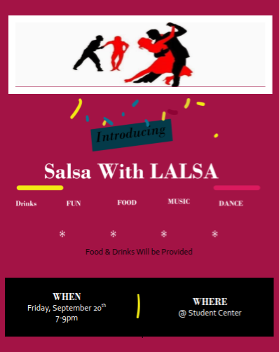 Salsa with Lalsa by the Latin American Law Student Association