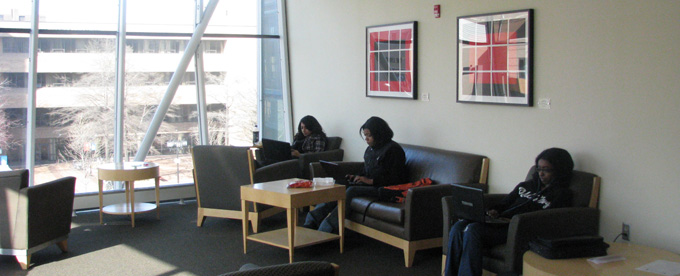 Student Center third floor lounge