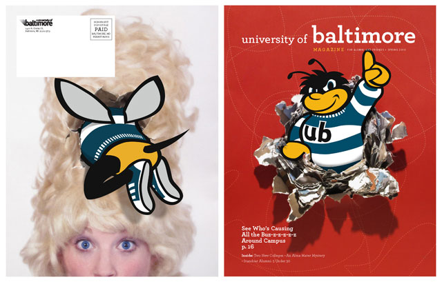 Eubie made his presence known on the cover of the spring 2010 edition of the University of Baltimore Magazine.